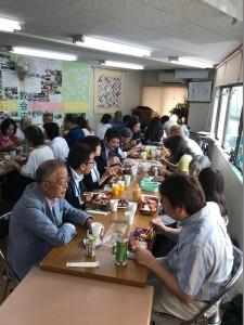 記念礼拝後の昼食会